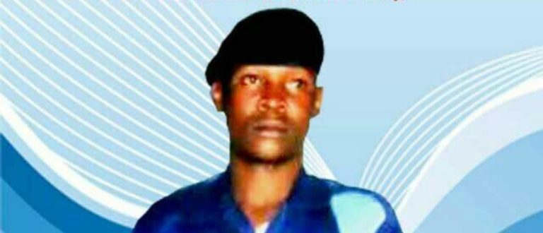 Article : Policier Chance Kitsa Idi Assan, la mort d'un héro à Goma