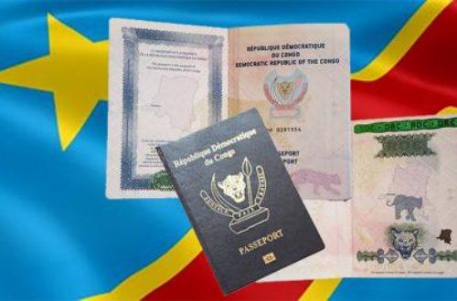Article : Lettre ouverte au Premier ministre de la RDC : « mon passeport est valide »