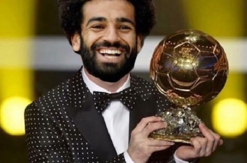 Article : Mohamed Salah, ballon d'or 2018